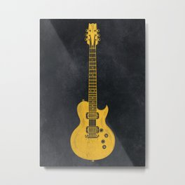 Guitar music instrument #guitar #music Metal Print