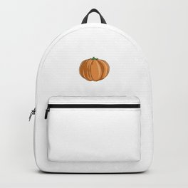 The Man Behind, The Pumpkin Funny Halloween Horror Scary Backpack