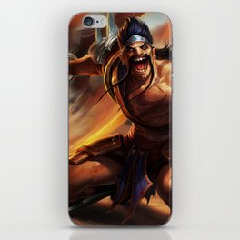 Gladiator Draven League Of Legends iPhone Skin