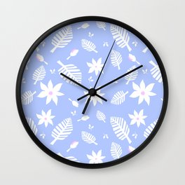Tropics Print 1 Wall Clock