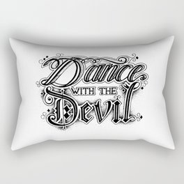 Dance with the Devil Rectangular Pillow