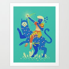 The Warrior Art Print