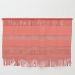 Solid Colors Series - living coral Wall Hanging