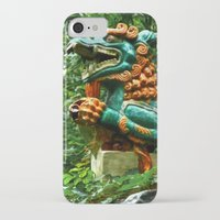 courage iPhone & iPod Cases featuring Courage by Anthony M. Davis
