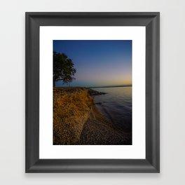 Waco, TX-Lake Shore Framed Art Print