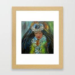 Hawaiian Hula V Framed Art Print