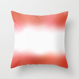 flag of austria - with cloudy colors Throw Pillow