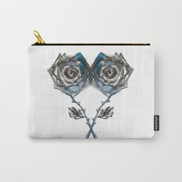 Royal Blue Rose Carry-All Pouch