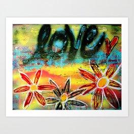It's Love.... Art Print