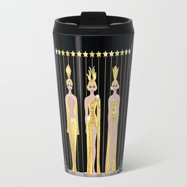 "Art Deco Illustration ""Lyre"" by Erté Travel Mug"