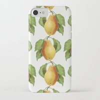 pear iPhone & iPod Cases featuring Pear by Grace