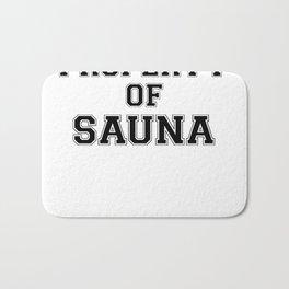 Property of SAUNA Bath Mat