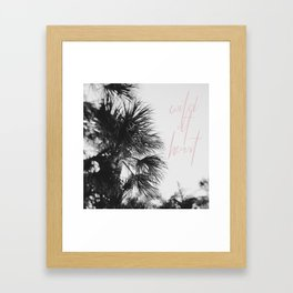 A Wild Heart Framed Art Print