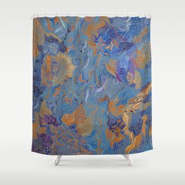 Wander what is underneath Shower Curtain