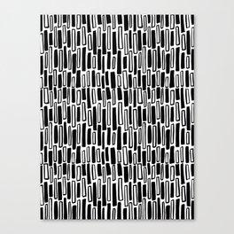 Raintangle Canvas Print
