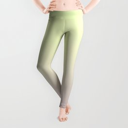 FRESH START - Minimal Plain Soft Mood Color Blend Prints Leggings