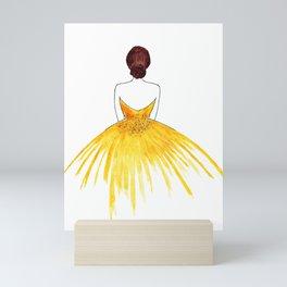 Ballerina Mini Art Print