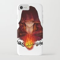 dark souls iPhone & iPod Cases featuring Dark Souls - Chaos Witch Quelana by Vivid-K
