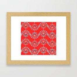 Retro Flower 6 Framed Art Print