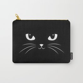 Cute Black Cat Carry-All Pouch
