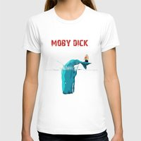 moby T-shirts featuring moby  by mark ashkenazi