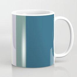 7 Colorful Retro Summer Stripes Gitche Coffee Mug