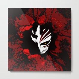 Hollow Mask halloween Metal Print