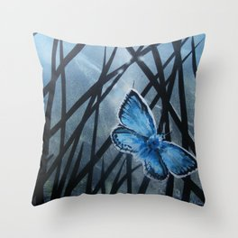 Westhay Butterfly 2 Throw Pillow