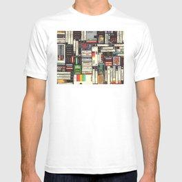 Cassettes, VHS & Games T-shirt