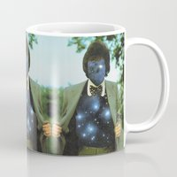 sagan Mugs featuring Everything the universe is within you  by Mariano Peccinetti