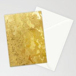 golden vintage Stationery Cards