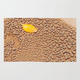 Dry sand textures Rug