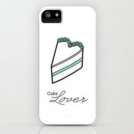 Cake lover iPhone Case