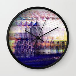 Enchanted Resonator Wall Clock