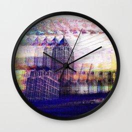 Enchanted Resonator Wall Clock