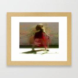 KARLA Framed Art Print
