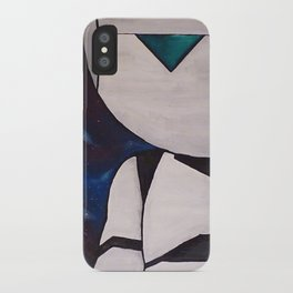 Brain the size of a planet iPhone Case
