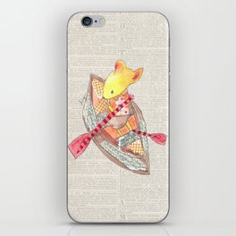 Mouse Up Paper Creek iPhone Skin