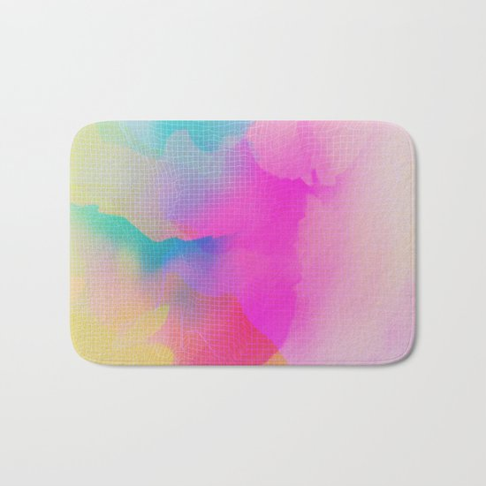Glitch 17 Bath Mat