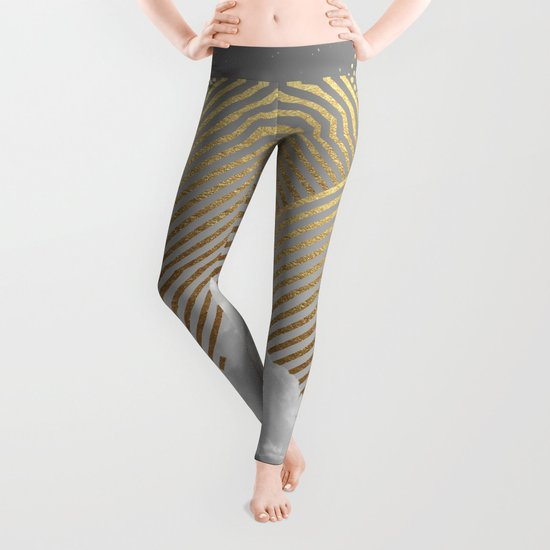 Silence is the Golden Mountain Leggings