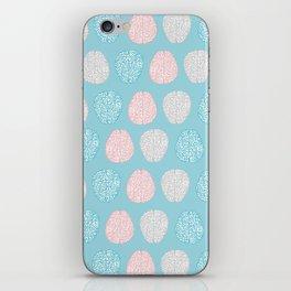Pastel Brains Pattern iPhone Skin