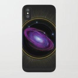 Space Travel - Painting iPhone Case