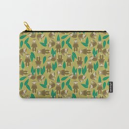 Jungle Sloth Carry-All Pouch
