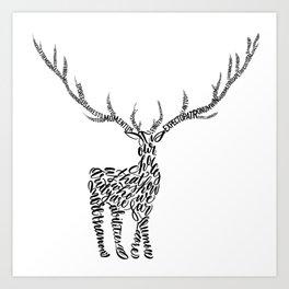 Prongs Art Print
