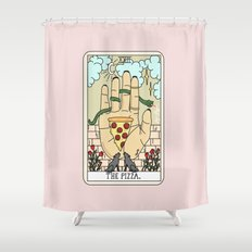 PIZZA READING Shower Curtain
