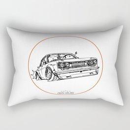 Crazy Car Art 0120 Rectangular Pillow
