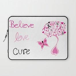 Breast Cancer Survivor Laptop Sleeve