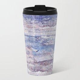Blue lilac marble Travel Mug