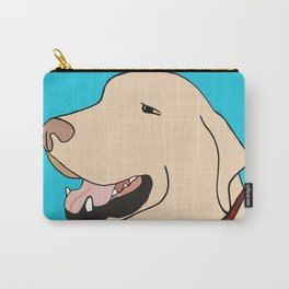 Sage A Yellow Labrador Carry-All Pouch