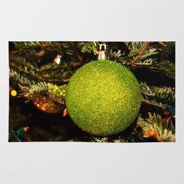 Green Ornament Rug
